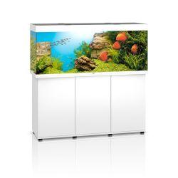 Aquarium RIO 450 BLANC JUWEL tout équipé avec meuble SBX