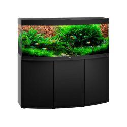 Aquarium VISION 450 LED NOIR JUWEL tout équipé avec meuble SBX