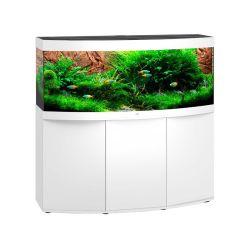 Aquarium VISION 450 LED BLANC JUWEL tout équipé avec meuble SBX