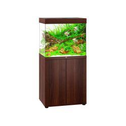 Aquarium LIDO 200 LED BRUN JUWEL tout équipé avec meuble SBX