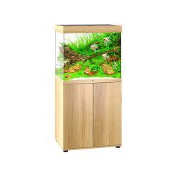 Aquarium LIDO 200 LED CHÊNE CLAIR JUWEL tout équipé avec meuble SBX